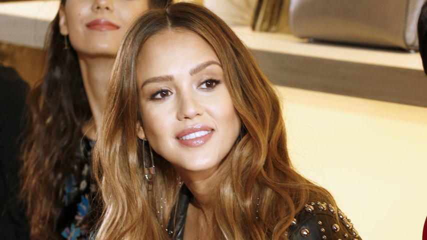 Jessica Alba bei der New Yorker Fashion Week