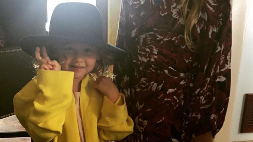 Süß! Jessica Albas Töchter Honor & Haven tragen ihre Sachen!