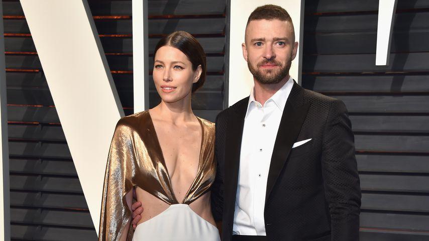 Jessica Biel und Justin Timberlake bei der Vanity Fair Oscar Party 2017