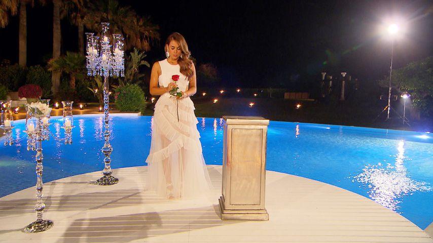 1. Bild vom Bachelorette-Finale: Letzte Rose im Brautkleid?