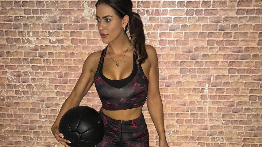 Jessica Paszka im Sport-Outfit auf Instagram