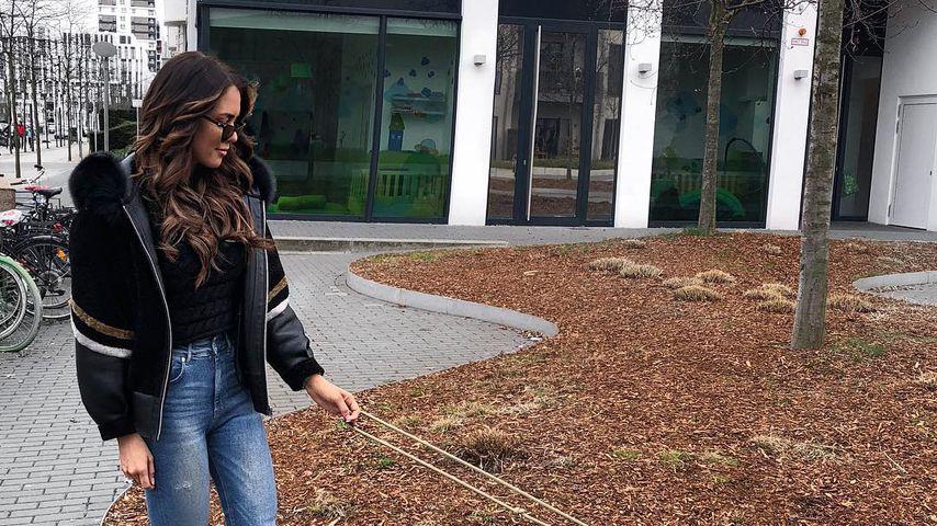 Vollblut-Hunde-Mami: Jessi Paszka liebt ihren kleinen Schatz