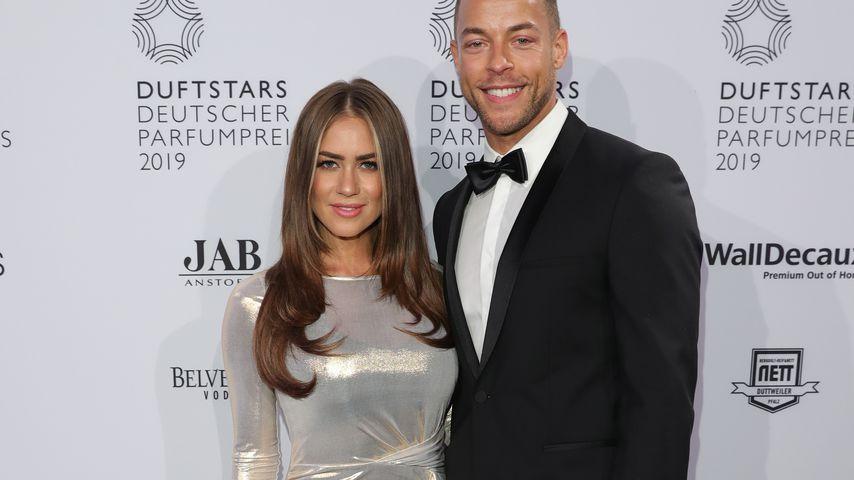 Ex-Bachelorette Jessica Paszka und Ex-Bachelor Andrej Mangold bei den Duftstars 2019