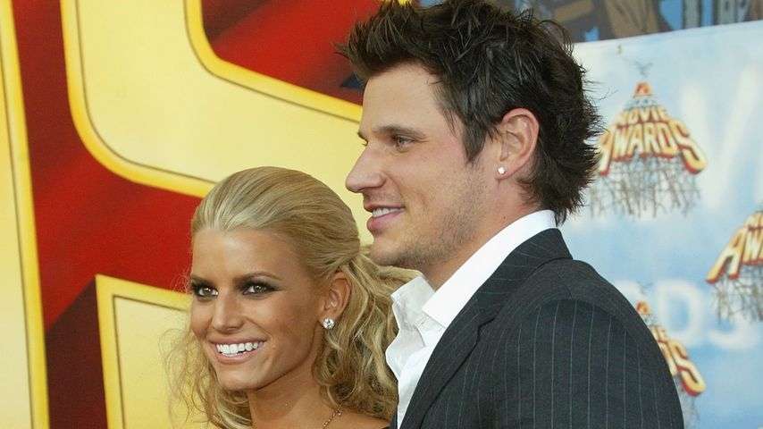 Jessica Simpson und Nick Lachey 2005 in Los Angeles