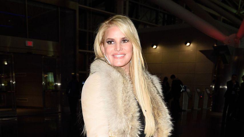 Jessica Simpson am New Yorker Flughafen