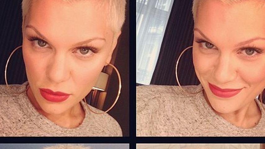Blau war gestern: Jessie J ist wieder blond!
