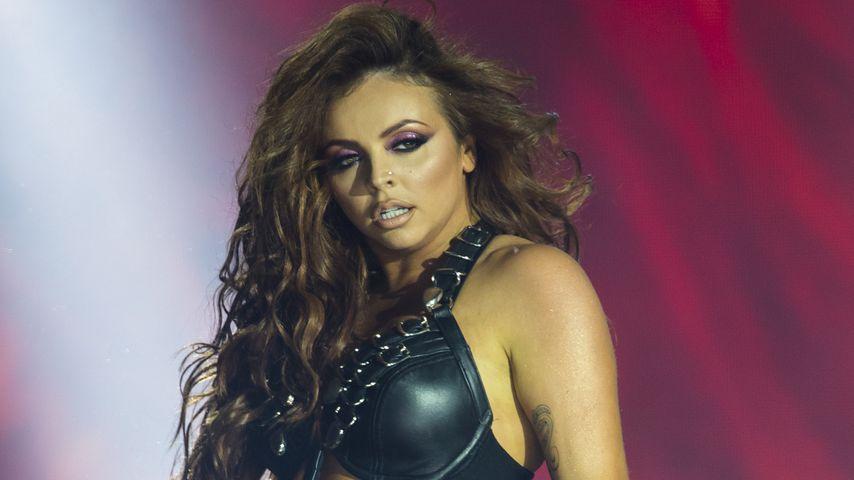Jesy Nelson von Little Mix bei einem Auftritt