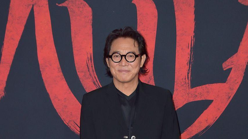 """Schauspieler Jet Li bei der Premiere von """"Mulan"""", 2020 in Los Angeles"""