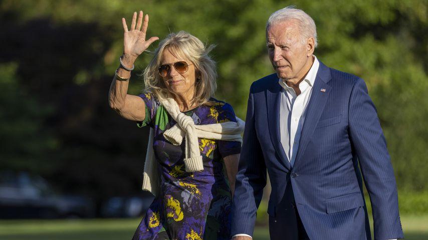 Jill Biden und Joe Biden im Juni 2021