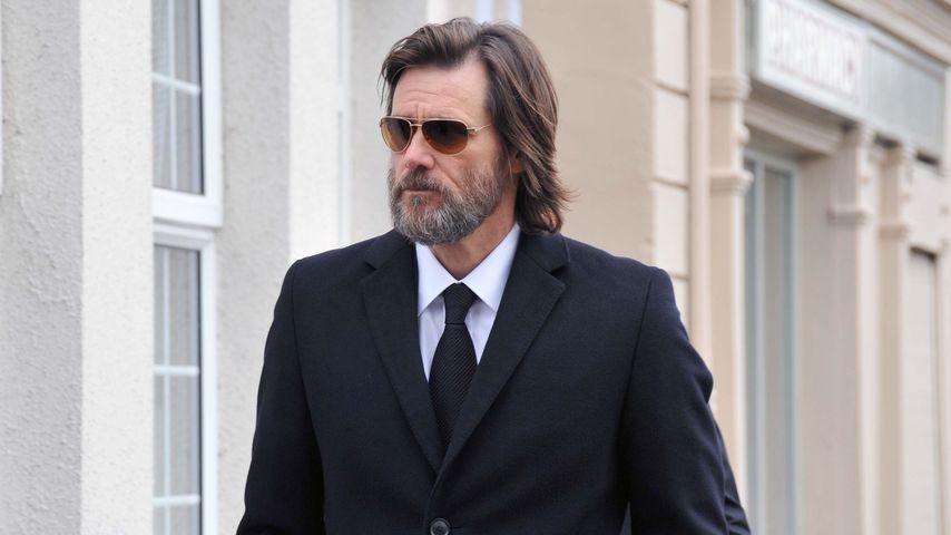 """Jim Carrey gegen Cathrionas (†) Ex: """"Es war eine Scheinehe!"""""""