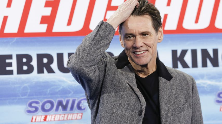 "Jim Carrey bei dem ""Sonic The Hedgehog""-Fan-Screening in Berlin"