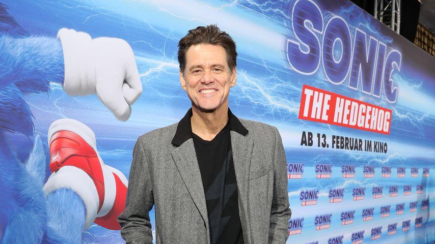 """Jim Carrey bei der """"Sonic The Hedgehog""""-Voraufführung in Berlin"""