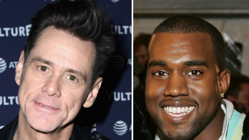 Ernsthaft? Jim Carrey hält sich für Kanye-West-Bewunderer