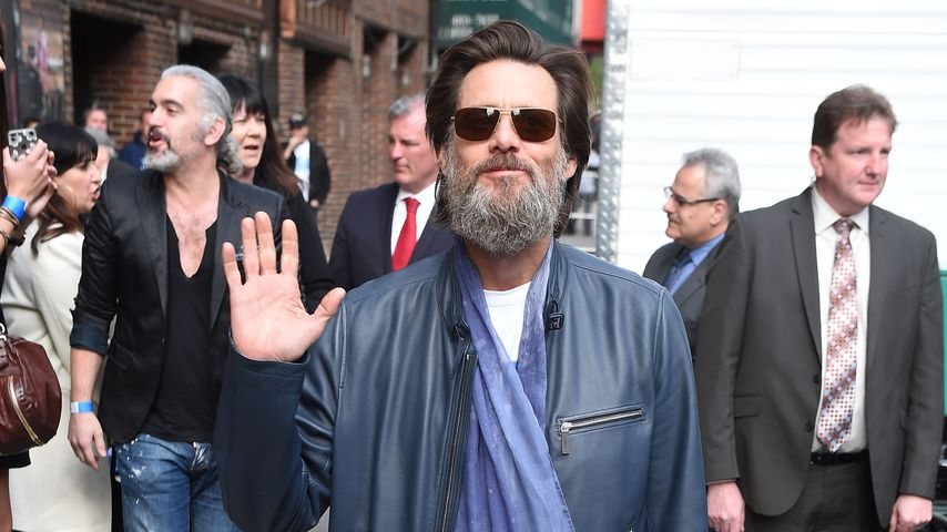 Jim Carrey in New York City