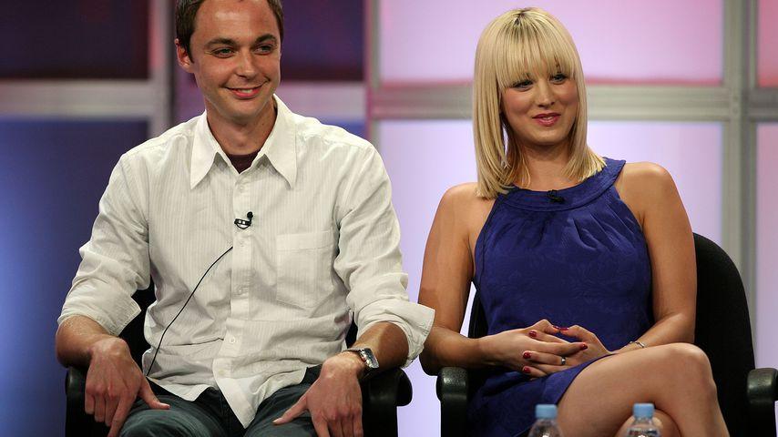 Jim Parsons und Kaley Cuoco 2007