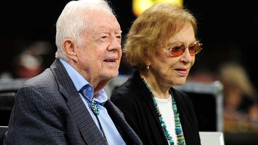 Jimmy Carter und seine Frau Rosalynn in Atlanta, September 2018