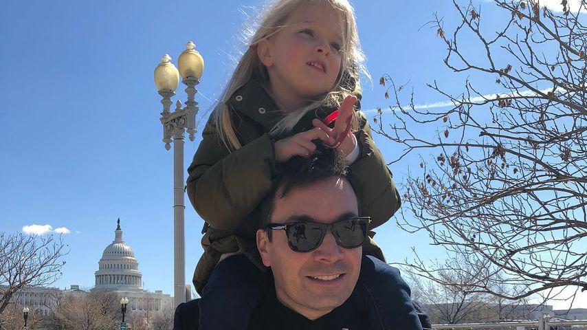 Erster Schultag seiner Tochter: Jimmy Fallon weinte fast!