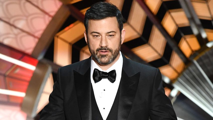 Jimmy Kimmel auf der Bühne der 89. Oscar-Verleihung in Hollywood 2017