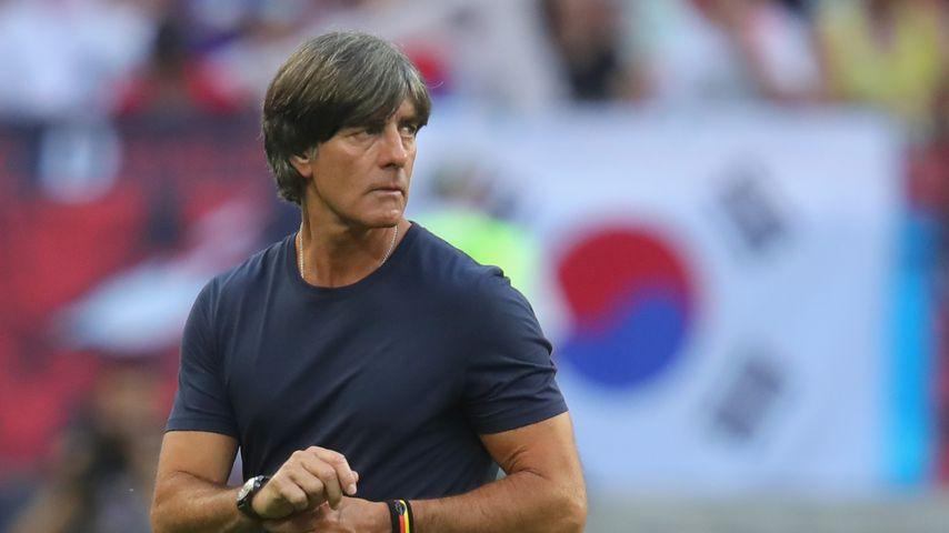 Joachim Löw nach dem WM-Spiel zwischen Deutschland und Südkorea