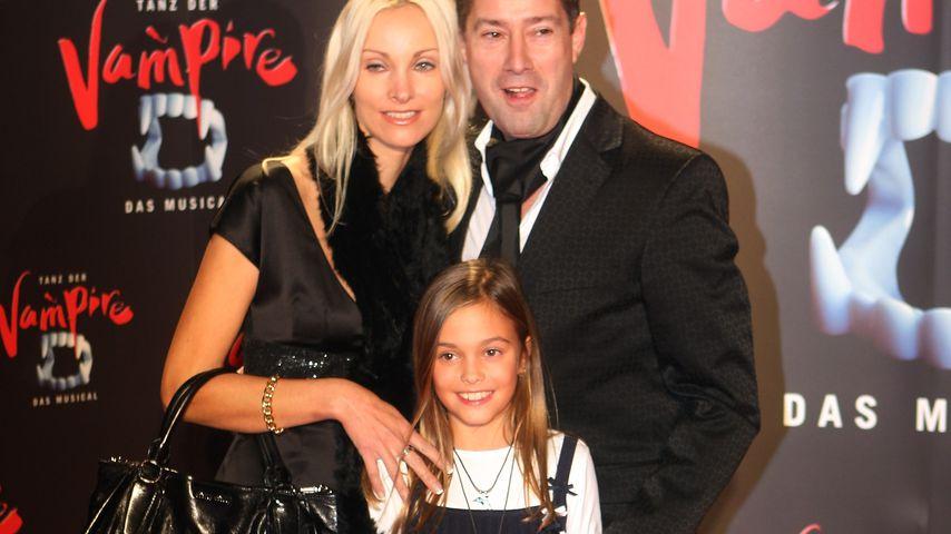 Joachim Llambi mit seiner Frau Ilona und seiner Tochter Katharina im Jahr 2008