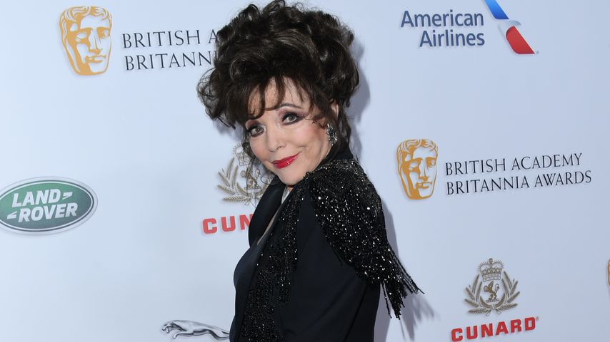Joan Collins bei den Bafta Awards 2018 in Beverly Hills