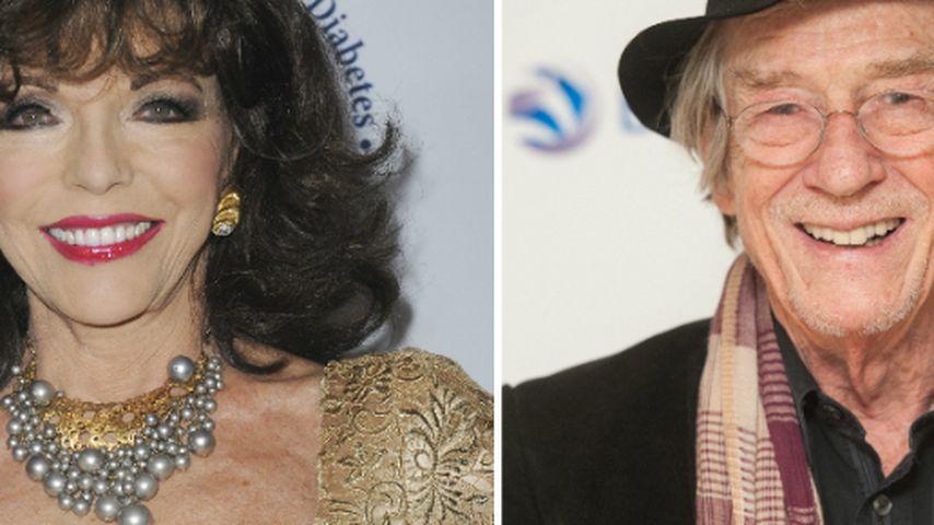 Joan Collins & John Hurt von der Queen geehrt