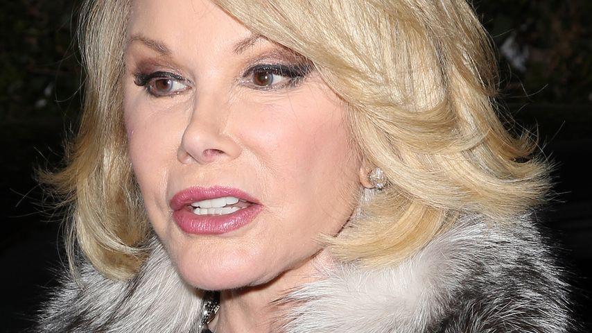Zustand stabil: Wie ernst steht es um Joan Rivers?