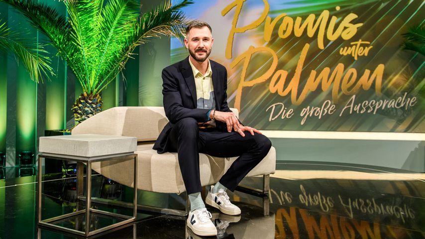 """Jochen Schropp bei """"Promis unter Palmen – Die große Aussprache"""""""