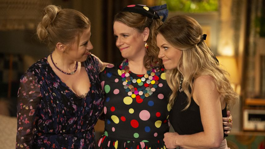 """Jodie Sweetin, Andrea Barber und Candace Cameron-Bure in """"Fuller House"""""""