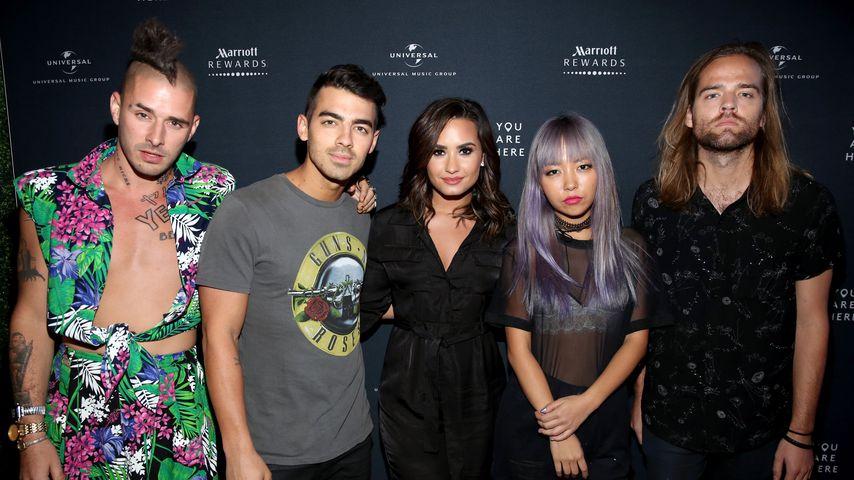 Joe Jonas' Band DNCE und Demi Lovato
