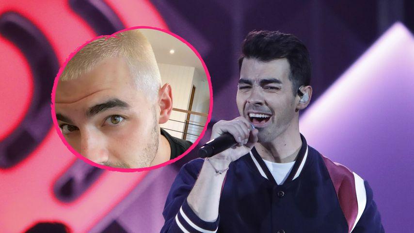 Nach Baby Willas Geburt: Papa Joe Jonas rockt neuen Style!