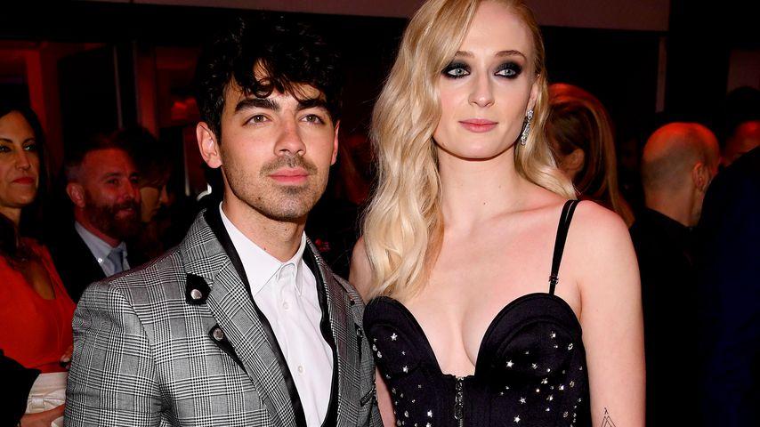 """Joe Jonas und Sophie Turner auf der """"Game of Thrones""""-Aftershowparty im April 2019"""