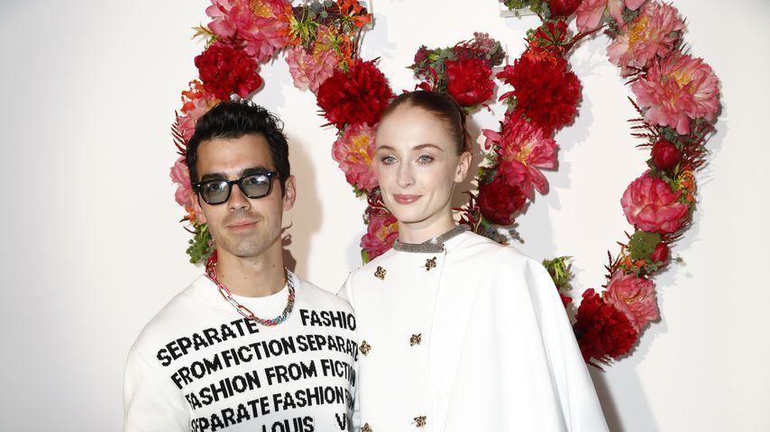 Joe Jonas und Sophie Turner beim Louis Vuitton Parfum Dinner
