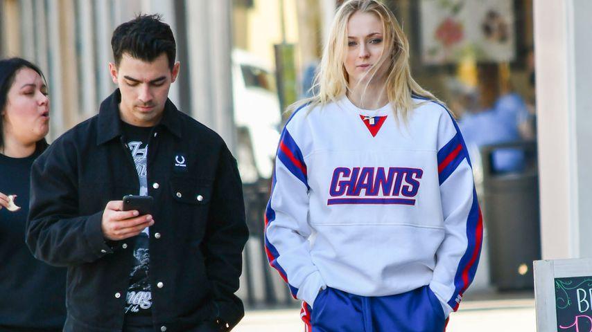 Joe Jonas und Sophie Turner im März 2020