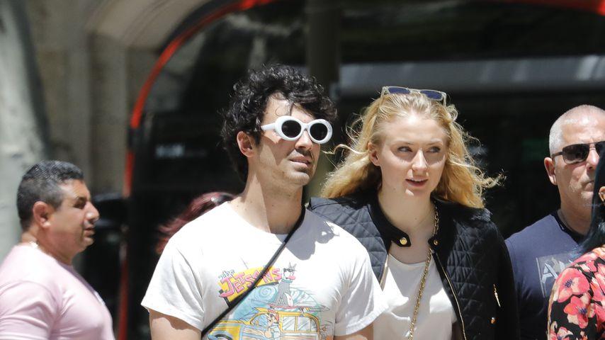 Romantiktrip: GoT-Sophie & Joe Jonas turteln in Barcelona