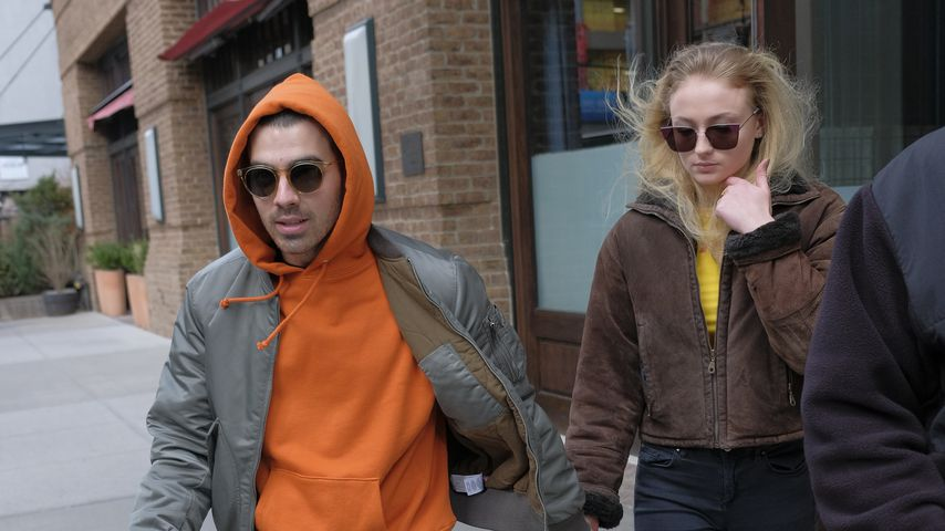 Joe Jonas und Sophie Turner in New York