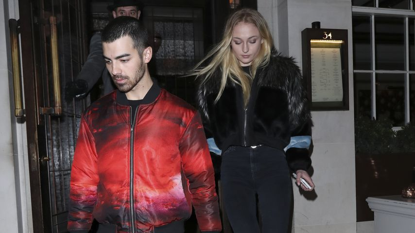 Bday-Date: Joe Jonas & Sophie Turner ganz vertraut in London