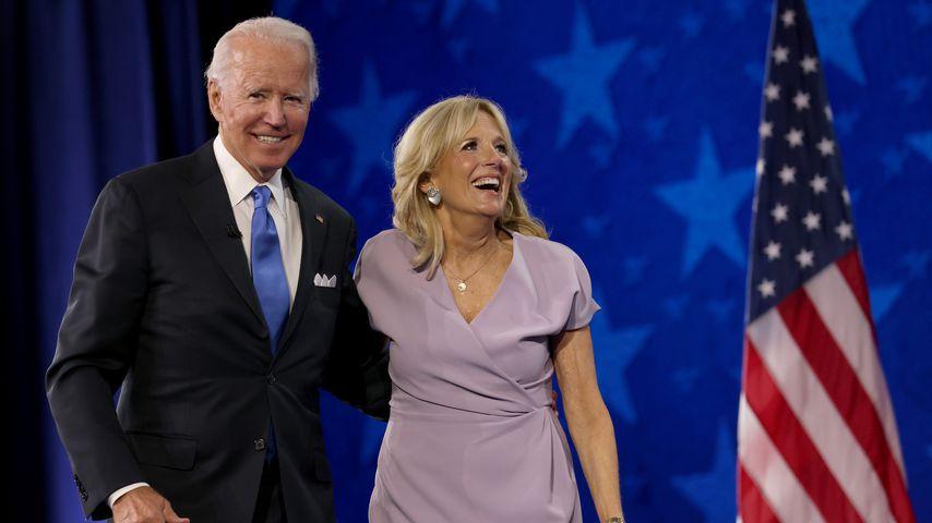 Joe und Jill Biden im August 2020