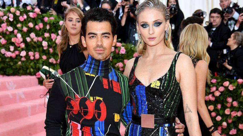 Joe Jonas und Sophie Turner bei der Met Gala 2019
