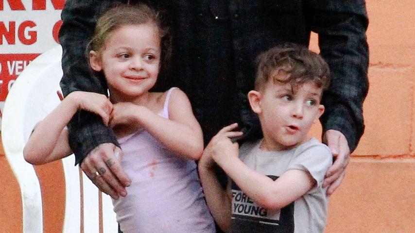 Harlow & Sparrow: So groß sind Nicole Richies Kids