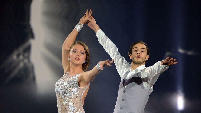 """Joelina Drews und Marc Aurel Zeeb bei """"Stepping Out"""" 2015 in Köln"""