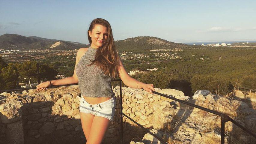 Joelina Drews im Urlaub auf Mallorca