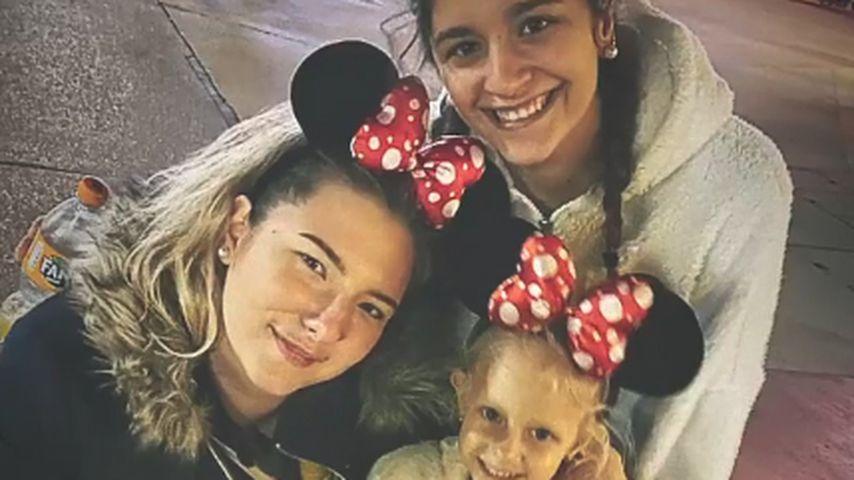 Joelina, Jada und Jenna im Disneyland, Februar 2020