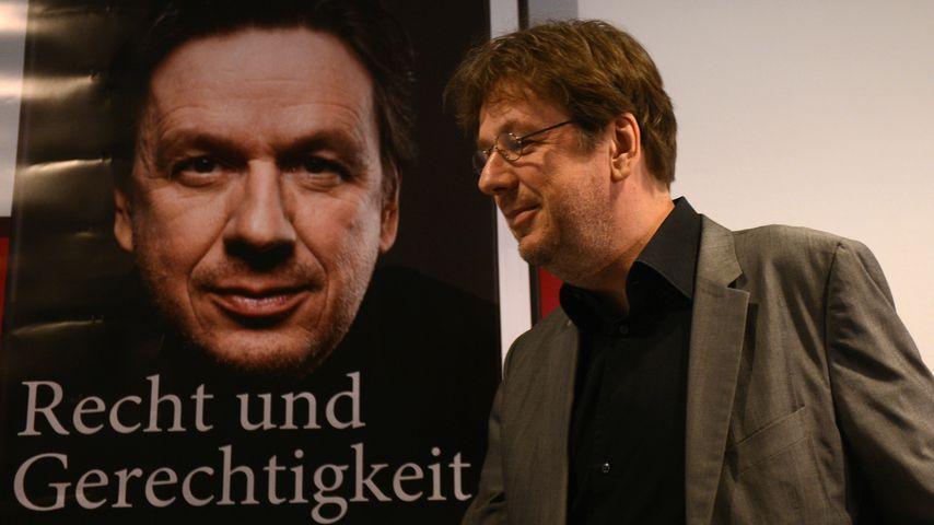 Jörg Kachelmann bei seiner Buch-Präsentation auf der Frankfurter Buchmesse 2012