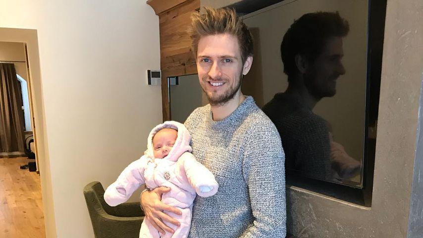 Jörn Schlönvoigt und seine Tochter Delia