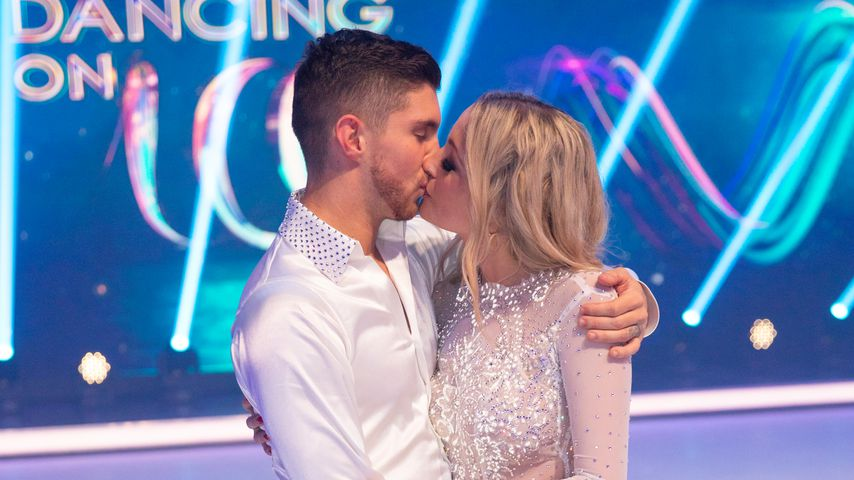 """Joey Heindle und Ramona Elsener bei """"Dancing on Ice"""" 2019"""