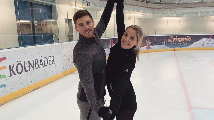 Joey Heindle und Ramona Elsener