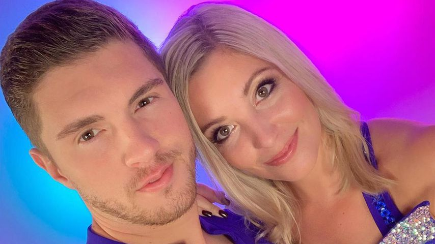 """Joey Heindle und Ramona Elsener, Kandidaten bei """"Dancing on Ice"""""""