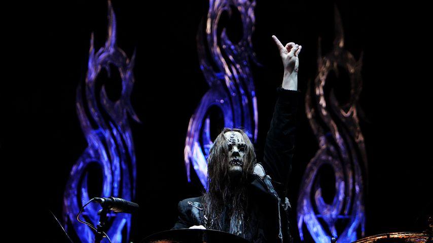 Joey Jordison im Oktober 2008 in Sydney