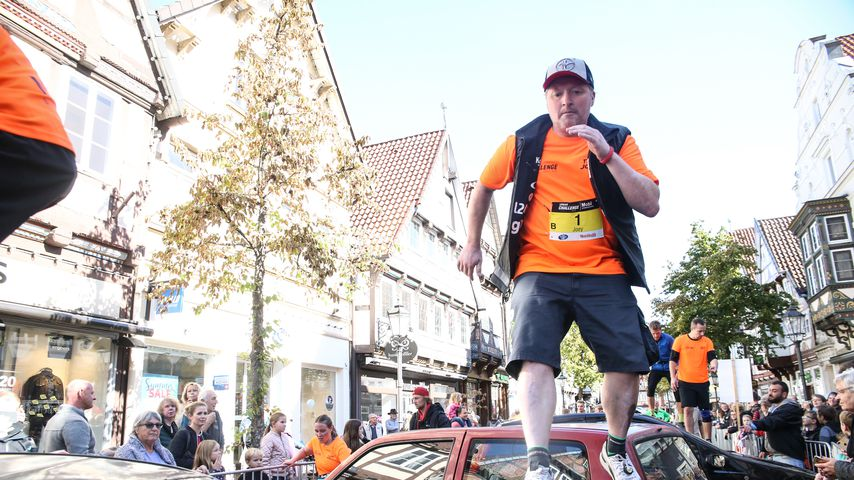 Joey Kelly bei der Urban Challenge in Celle im September 2018